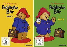 2 DVDs * DIE ABENTEUER VON PADDINGTON BÄR - TEIL 1 + 2 IM SET # NEU OVP /