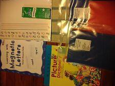 Lot ETA Cuisenaire writing and reading materials