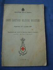MARINA-CORPO SANITARIO MILITARE MARITTIMO-SITUAZIONE AL 1° GENNAIO 1919..