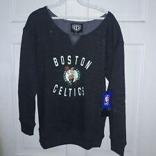 Boston Celtics basketball Sweatshirt NBA shirt athletic apparel NEW ~ Ladies S
