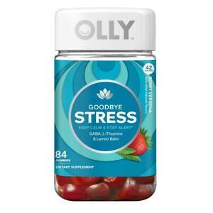 OLLY Goodbye Stress Gummies Dietary Supplement, 84 ct - Anti Stress Anti Anxiety