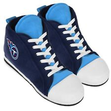 Tennessee Titans High Top Sneaker SLIPPERS New - FREE U.S.A. SHIPPING