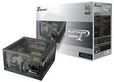 400W Fanless Modular PSU, 80+ Platinum - SEASONIC