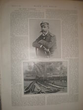 Photo article British Benin Expedition interview Commander Dundas 1897 my ref L