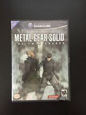 Metal Gear Solid: The Twin Snakes (Nintendo GameCube, 2004) COMPLETE