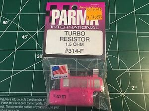 PARMA #314F 1.5 Ohm Turbo Controller Resistor from Mid America Raceway