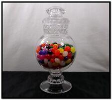 ANTIQUE DAKOTA GLASS APOTHECARY JAR GLOBE DRUG CANDY STORE MERCANTILE DISPLAY