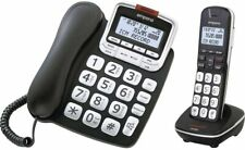 Emporia GD61ABB Senioren-Telefon schwarzFestnetz Kabel & Kabellos Telefon Set -