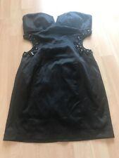 Miso Size 6 Black Evening Mini Dress Party