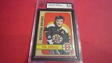 1972 TOPPS HOCKEY #150 PHIL ESPOSITO *PSA 8.5