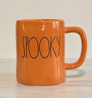 Rae Dunn Halloween SPOOKY Orange Ceramic Mug. NEW