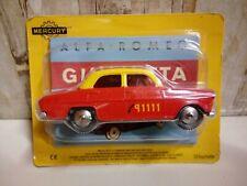 Modellino Die Cast HACHETTE Mercury Alfa Romeo Giulietta N° 17 1/43 Nuovo