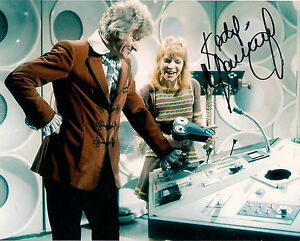 KATY MANNING DR WHO JO GRANT SIGNED AUTOGRAPH 6 x 4 PRE PRINTED JON PERTWEE ERA