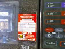 40 X Failed Microwave Pat Test Stickers labels
