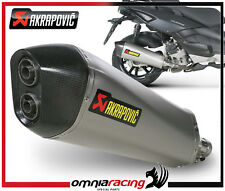 Marmitta Escape Akrapovic Gilera Nexus 500 ie 2009>2011