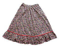 Vintage 80's Midi Skirt Floral Indie Retro Boho 6