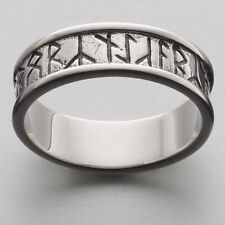 Scottish Ola Gorie Orkney Runic Ring Silver