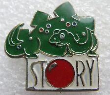 Pin's Un petit Dinosaure vert STORY #1279
