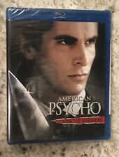 American Psycho, Christian Bale, Blu-ray release, Uncut Edition-Unopened