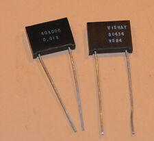 Vishay Foil Resistors VSR4 64 Ohm .01% 2pcs