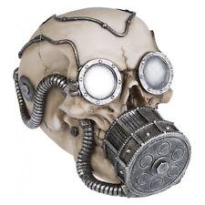 Deko Totenschädel Schädel mit Gasmaske Wehrmacht Halloween Gothic DOD042