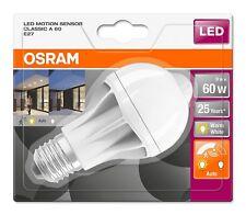 OSRAM LED SENSOR E27 60Watt 806Lumen warmweiß mit Bewegungsmelder R3/F47-9277