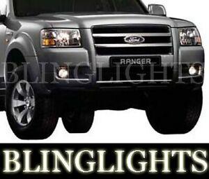 Xenon Halogen Fog Lamps Light Kit for 2004-2009 Ford Ranger foglamps foglights
