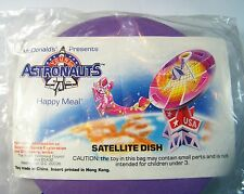 1991 McDonalds Happy Meal ASTRONAUTS Satellite Dish FREE SHIP Premium MIP C10!