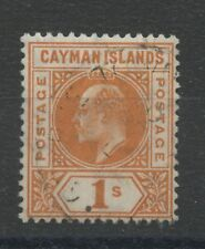 Cayman Islands SG12 1s Orange Used