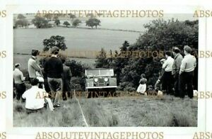 EARLY PHOTOGRAPH LAND ROVER NAW 578 BLACKWELL QUARRY RALLY DERBYS VINTAGE C.1960