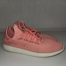 Men's Adidas Tennis HU Pharrell Williams Sneaker BY8715 Pink size 10