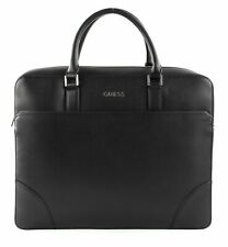 GUESS satchel Manhattan Briefcase Black