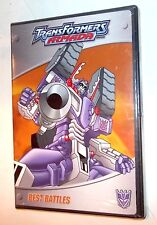 Transformers Armada DVD ** BEST BATTLES  ** NEW shrink wrapped SEALED
