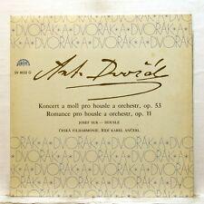 JOSEF SUK, ANCERL - DVORAK violin concerto, romance SUPRAPHON LP EX++