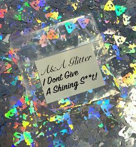 Nail Art Glitter Emoji Shapes Cosmetic Glitter 5g Bag