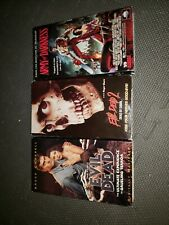 RARE OOP Evil Dead TRILOGY 3x VHS film 1 2 Army of Darkness BRUCE CAMPBELL Raimi