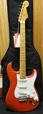 New Old Stock 2014 Fender Classic 50s Stratocaster Electric Guitar Fiesta Red