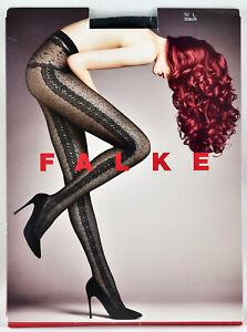 💥F A L K E  Fashion Tights Pantyhose IV Large Sexy Black Color 30 Den  Germany