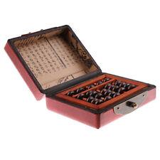 Abaco Soroban Standard - 5 Cifre Con 7 Perle E Robusta Costruzione In Legno -