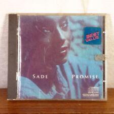 Sade Promise CD Album 1985 CBS Portrait Playgraded