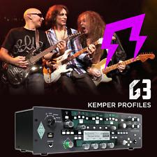 G3 Vai Satriani Malmsteen Kemper Amp list Rig Profilling Guitar Profiles 82 Tone