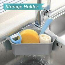 Sink Drain Filter Basket Strainer Shelf Storage Rack Sponge Holder Organizer