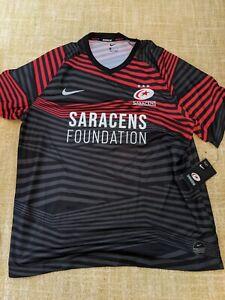 Nike Saracens Rugby Shirt. XL 20/21 BNWT