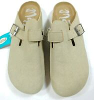 Mad Love Womens Tina Microsuede Slip On Clogs W/Adjustable Strap Size 11 (5611)