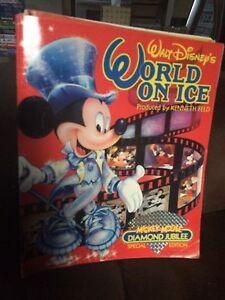 1988 Disney's Mickey Mouse Diamond Jubilee World On Ice Skating Program