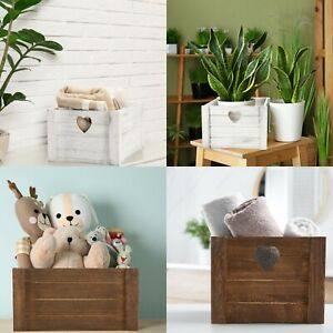 Wickerfield Home Vintage Wooden Crate Heart Design, Wedding  Gift Hamper