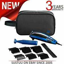 BaByliss 7447BGU Professional Corded Mens Hair Clipper-Trimmer Gift Kit - Blue