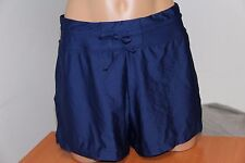 NWT 24th Ocean Swimsuit Bikini Bottom  Sz M Navy Swim Shorts
