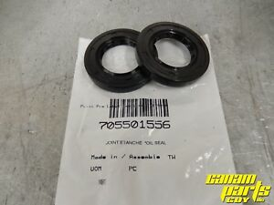 Can Am OEM 52mm Rear Differential Axle Seal Pair (2) Diff XMR 705501556