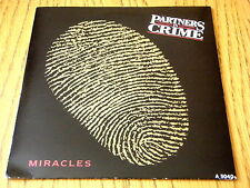 "PARTNERS IN CRIME - MIRACLES  7"" VINYL PS"